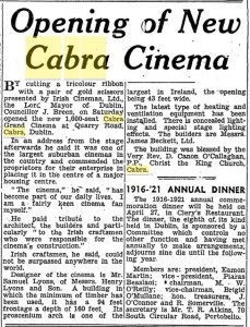 Cabra April 18 1949