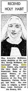 Cabra Nun 1963