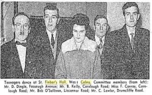 Dance Committee 1962