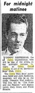 Johnnie Heffernan 1962