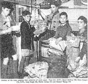 Scouts 1962 Cabra