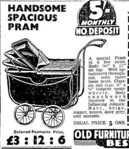 The Old Pram 1938